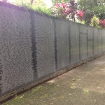 Names on a Wall – Our Visit to a Civil War Memorial