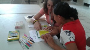 Jenni teaching a client(color)